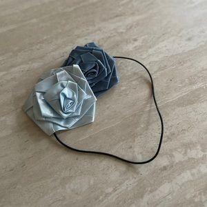 Flower Elastic Headband 💙